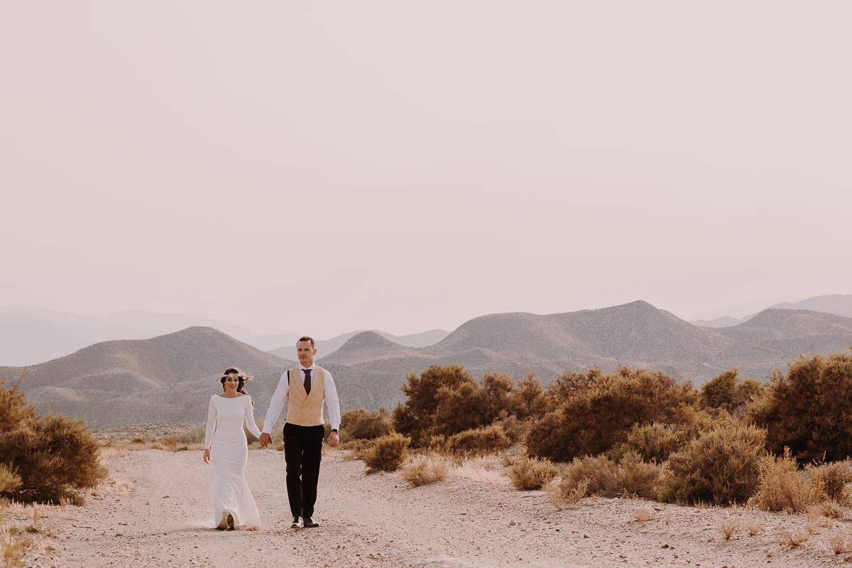 Love Wanderers Postboda en el Desierto de Almería