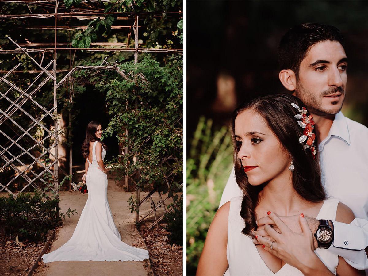 Love Wanderers Postboda en el Carmen de los Martires Granada